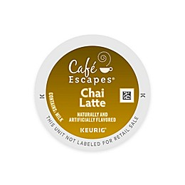 Café Escapes® Chai Latte Keurig® K-Cup® Pods 16-Count