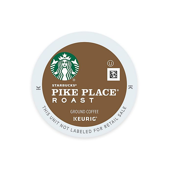 Alternate image 1 for Keurig® K-Cup® Pods 16-Count Starbucks® Pike Place® Medium Roast Coffee