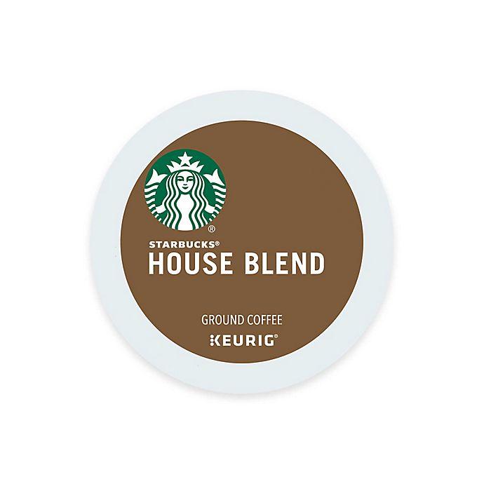 Alternate image 1 for Starbucks® House Blend Medium Coffee Keurig® K-Cup® Pods 16-Count