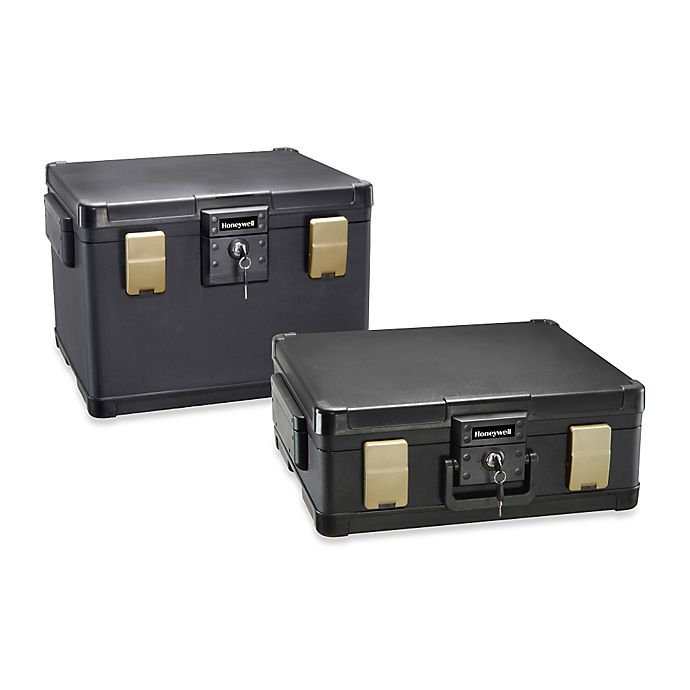 Alternate image 1 for Honeywell Fire- and Water-Resistant Security Chest