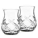 Top Shelf Bevel Crystal Whiskey Tasters (Set of 2)