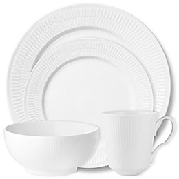 Royal Copenhagen Fluted Dinnerware Collection in White