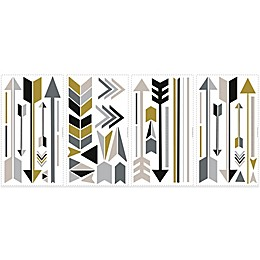 York Wallcoverings Arrow Peel and Stick Giant Wall Decals (Set of 47)