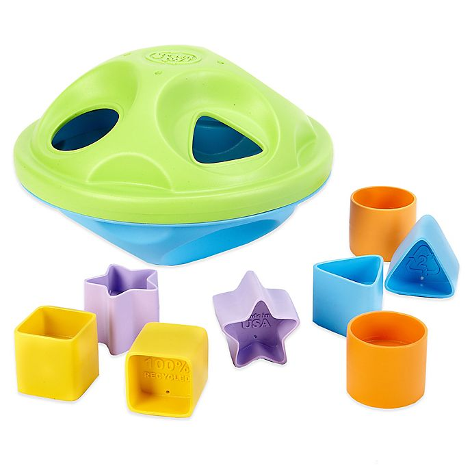 Alternate image 1 for My First Green Toys 7-Piece Shape Sorter Set