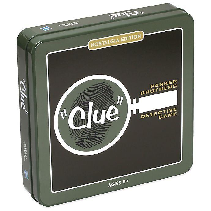 Alternate image 1 for Nostalgia Edition Clue® Board Game