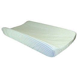 Trend Lab® Cocoa Mint Chevron Changing Pad Cover