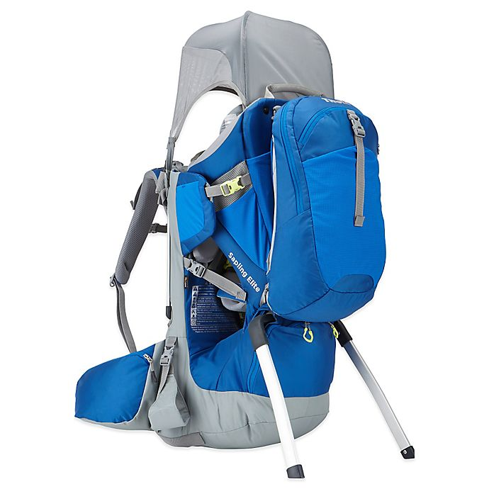 Alternate image 1 for Thule® Sapling Elite Child Carrier in Slate/Cobalt