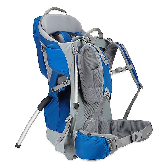 Alternate image 1 for Thule® Sapling Child Carrier in Slate/Cobalt