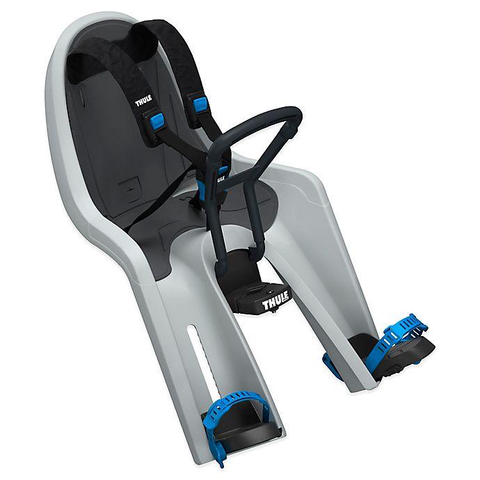 Alternate image 1 for Thule® RideAlong Mini Child Bike Seat in Light Grey