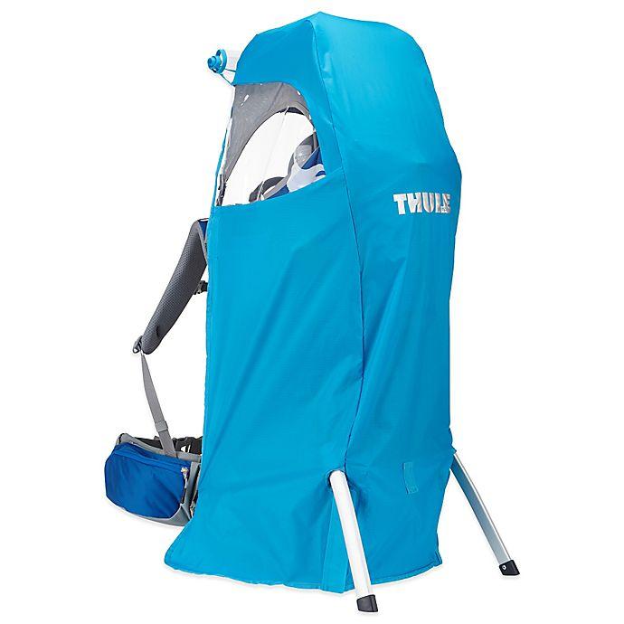 Alternate image 1 for Thule® Sapling/Sapling Elite Child Carrier Rain Cover in Blue