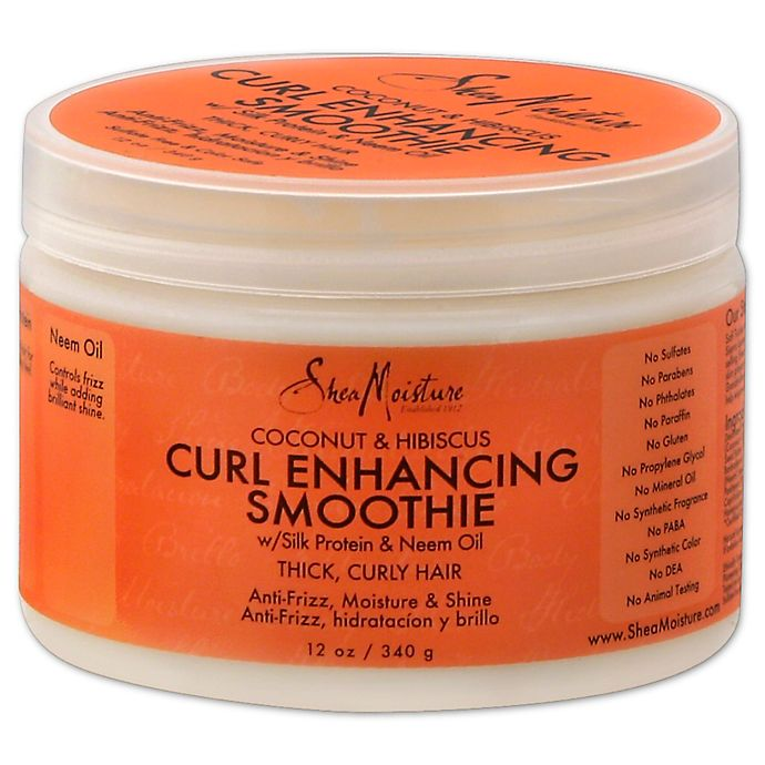 Alternate image 1 for SheaMoisture® 12 oz. Coconut and Hibiscus Curl Enhancing Smoothie