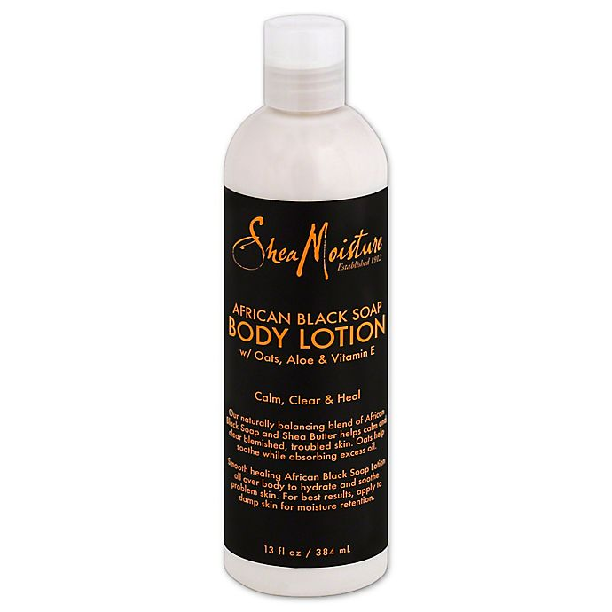 Alternate image 1 for SheaMoisture® 13 oz. African Black Soap Body Lotion