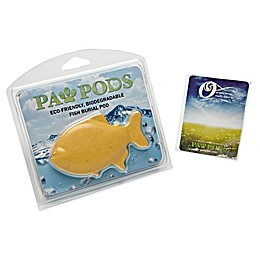 Goldfish Paw Pod Pet Burial Pod