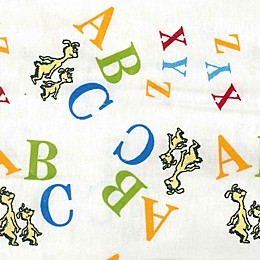 Trend Lab® Dr. Seuss™ ABC Flannel Fitted Crib Sheet