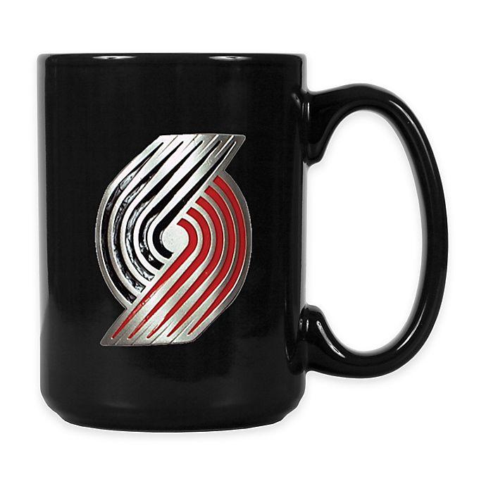 NBA Portland Trail Blazers Coffee Mug In Black