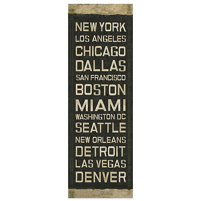 Alternate image 1 for National Roll Sign Canvas Wall Art