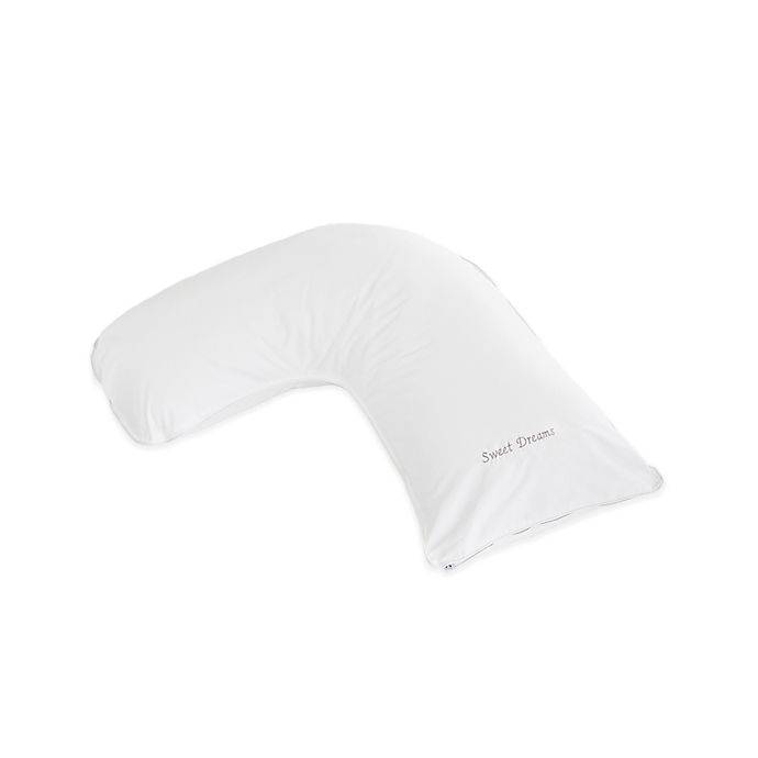 Alternate image 1 for The Pillow Bar® Breakfast in Bed™ Down Alternative Sweet Dreams Small Side Sleeper Pillow