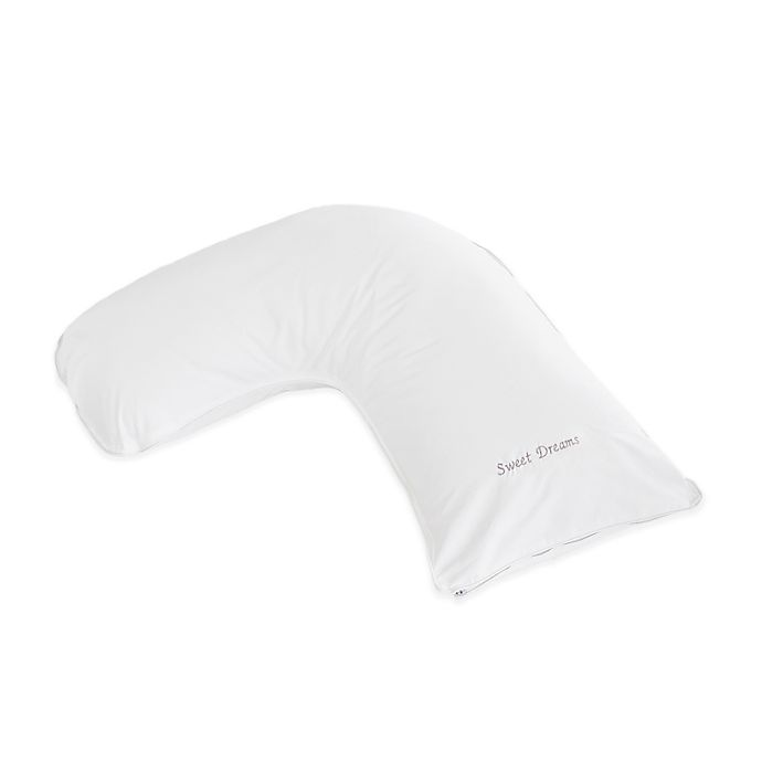 Alternate image 1 for The Pillow Bar® Breakfast in Bed™ Down Alternative Sweet Dreams Medium Side Sleeper Pillow