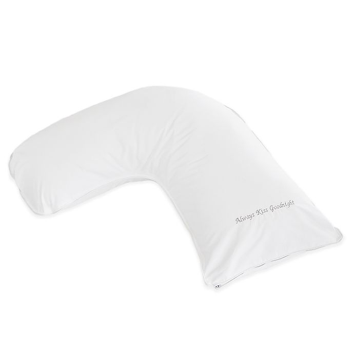 Alternate image 1 for The Pillow Bar® Breakfast in Bed™ Down Alternative Kiss Goodnight Athlete Side Sleeper Pillow