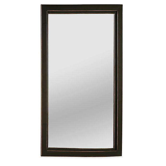 Alternate image 1 for Southern Enterprises  Roxburgh 22-Inch x 36-Inch Rectangular Wall Mirror in Black