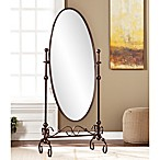 Southern Enterprises Blythe Cheval Floor Mirror in Bronze
