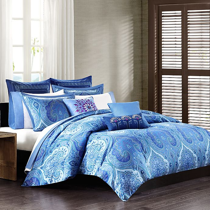 Echo Design Jakarta Comforter Set In Blue Bed Bath Beyond
