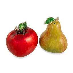 Quest Gifts and Design Salt and Pepper Shaker Set in Apple and Pear