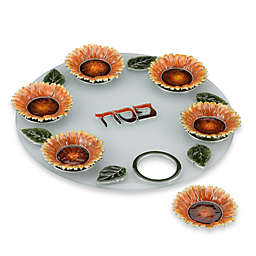 Quest Collection Frosted Seder Plate