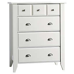 Child Craft™ Relaxed Traditional 4-Drawer Chest in White