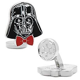 Star Wars™ Silver-Plated Dapper Darth Vader Cufflinks