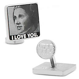 Star Wars™ Silver-Plated I Love You, I Know Cuffllinks