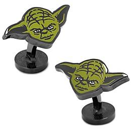 Star Wars™ Enameled Yoda Cufflinks