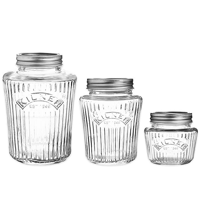 Alternate image 1 for Kilner® Glass Vintage Preserve Jar