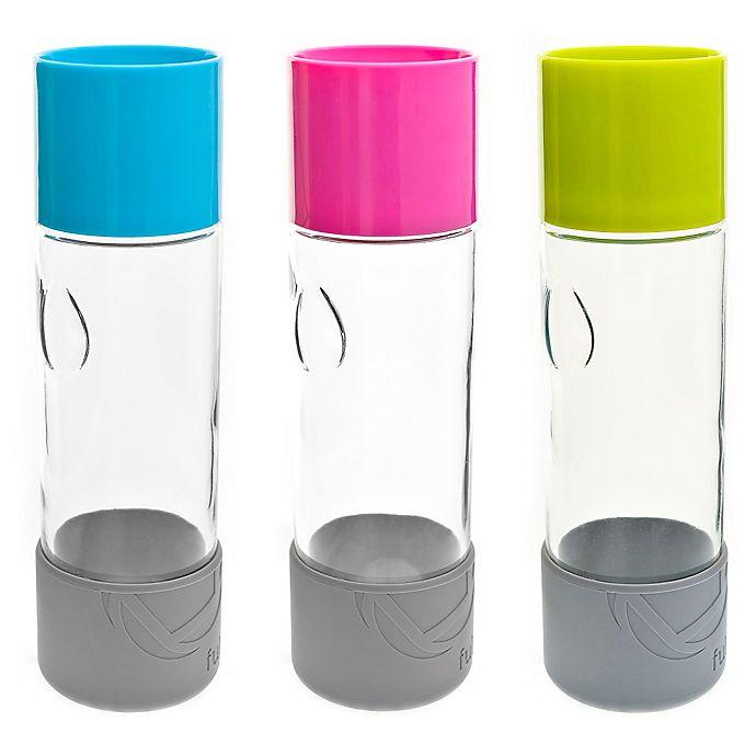 Alternate image 1 for Full Circle Daytripper Glass Water Bottle