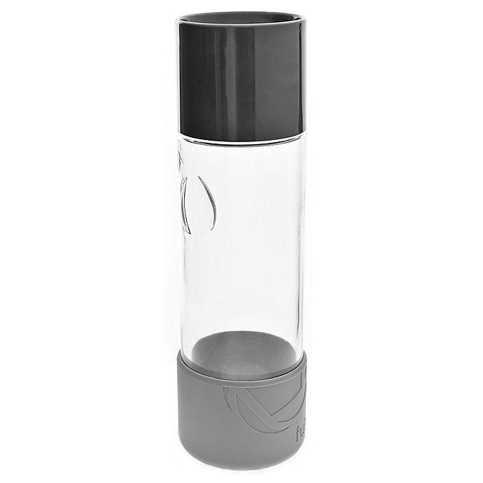Alternate image 1 for Full Circle Daytripper Glass Water Bottle in Blackberry