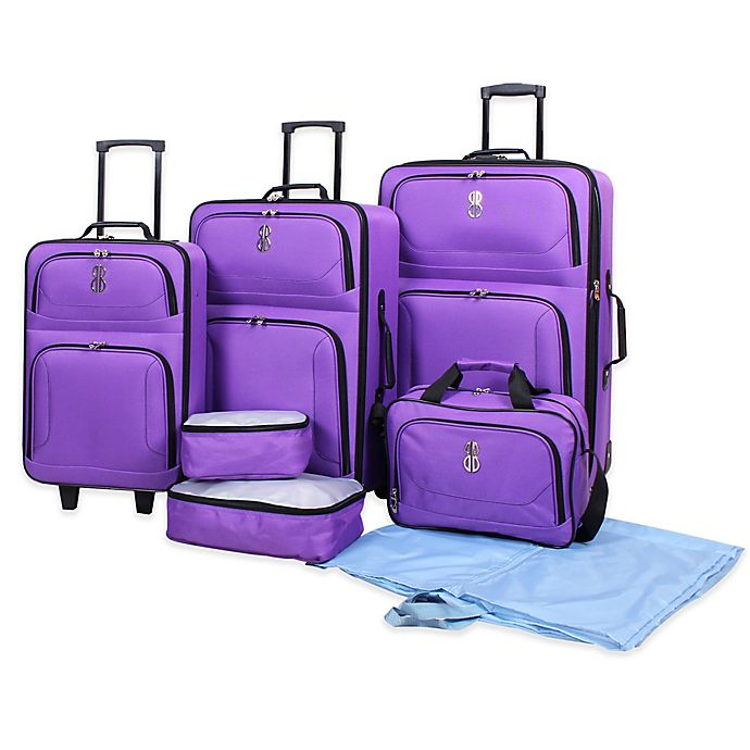 Bill Blass Soho 7 Piece Luggage Set