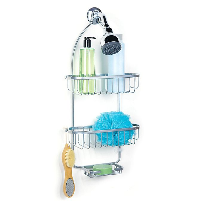 Bed Bath And Beyond Shower Caddy regal chrome shower caddy | bed bath & beyond