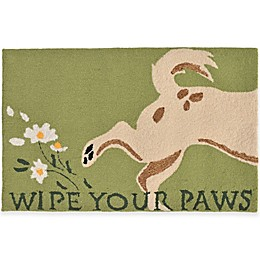 Trans-Ocean Wipe Your Paws Accent Rug