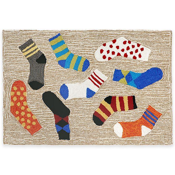 Alternate image 1 for Trans-Ocean Lost Socks Accent Rug