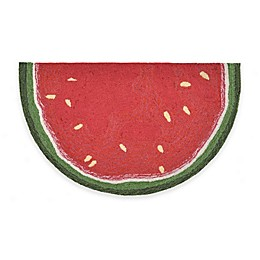 Trans-Ocean Watermelon Slice Accent Rug