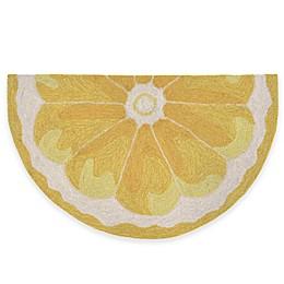 Trans-Ocean Lemon Slice Accent Rug