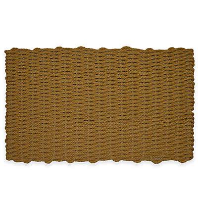 Nature by Geo Crafts Mariner 18-Inch x 30-Inch Reversible Door Mat in Brown