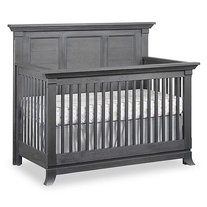 Alternate image 1 for Ozlo Baby Hamilton 4-in-1 Convertible Crib in Grey