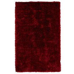 Kaleen Posh 5-Foot x 7-Foot Shag Area Rug in Red