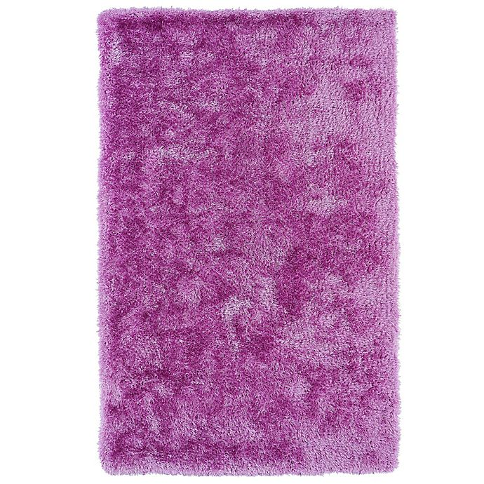 Alternate image 1 for Kaleen Posh 5-Foot x 7-Foot Shag Area Rug in Lilac