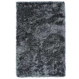 Kaleen Posh 8-Foot x 10-Foot Shag Area Rug in Grey