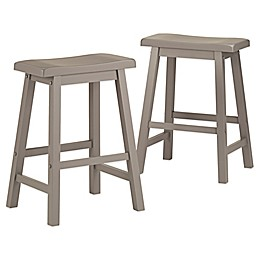iNSPIRE Q® Calera Saddle Stools (Set of 2)
