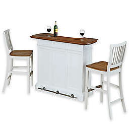 Home Styles Americana Bar with Two Barstools