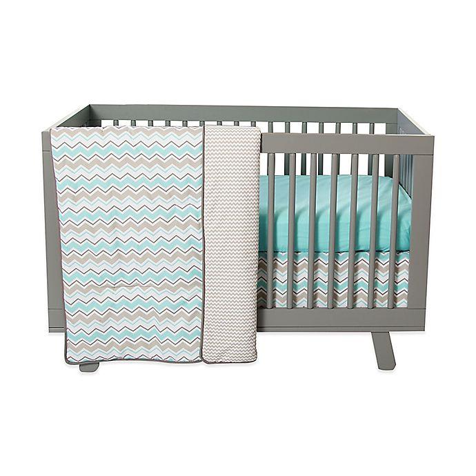 Alternate image 1 for Trend Lab® Seashore Waves 3-Piece Crib Bedding Set