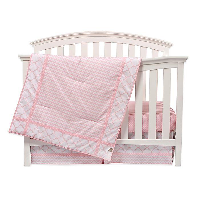 Alternate image 1 for Trend Lab® Pink Sky 3-Piece Crib Bedding Set